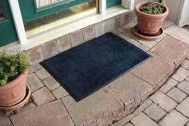 Fleur De Lis Reversible Patio Mats by Bungalow Flooring Aqua Shield Dirt Stopper Supreme Doormat