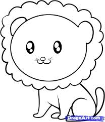 The 25 Best Simple Lion Drawing Ideas On Pinterest