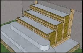 très bien fait voici comment construire un escalier en béton et