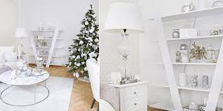 silver white weihnachtliche regal deko instashop