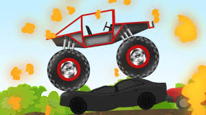 Monster Truck Video | Stunts And Actions | Toy Truck | Video For ... Monster Trucks Teaching Children Shapes And Crushing Cars Watch Custom Shop Video For Kids Customize Car Cartoons Kids Fire Videos Lightning Mcqueen Truck Vs Mater Disney For Wash Super Tv School Buses Colors Words The 25 Best Truck Videos Ideas On Pinterest Choses Learn Country Flags Educational Sports Toy Race Youtube Stunts With Police Learning