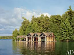 100 Lake Boat House Designs Thom Filicia Crafts A FamilyFriendly Retreat In The