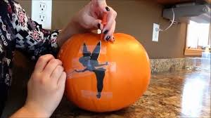 Tinkerbell Pumpkin Carving by Tinkerbell Pumpkin Carving Tutorial Dailymotion