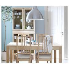 Dining Room Tables Ikea Canada by Bjursta Extendable Table Birch Veneer Ikea