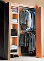 closet organizers at woodworkersworkshop com