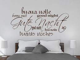 wandtattoo gute nacht mit wandtattoo de