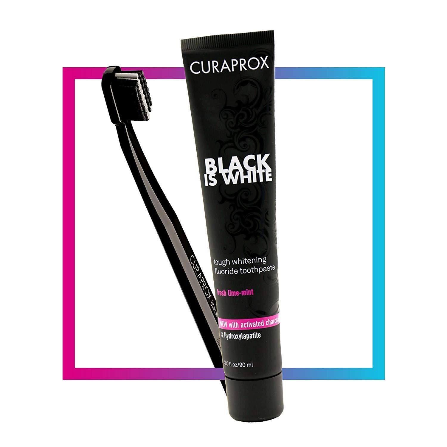 Curaprox Black Is White Whitening Toothpaste - 90ml