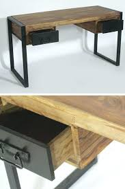 bureau design industriel bureau atelier industriel bureau style industriel en bois de