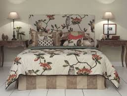 Hoot Bedroom Bedhead Bedspread Valance And Cushions Manufactured By BQ Design