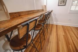 From Countertops And Chairs To Plenty Inbetween The Team At Rustic Restaurant Furniture Fitted Them Out Bench Beam