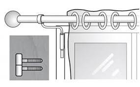 barre a rideau sans percage tringles sans perçage pour fenêtre pvc fixez vos rideaux