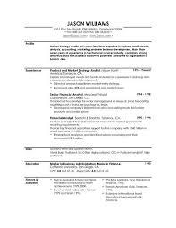 profile in resume example Roho 4senses