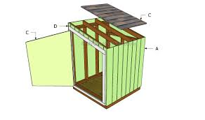 Slant Roof Shed Plans Free by Generator Shed Plans Myoutdoorplans Free Woodworking Plans And
