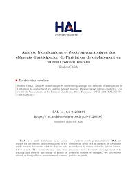 fauteuil de bureau orthop ique biomechanics and electromyographic pdf available