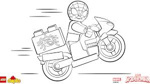 LEGOR DUPLOR Spider Man Coloring Page