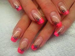 pink nail tip designs Easyday