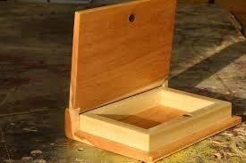 Make A Wooden Book Keepsake Box