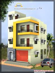 Second Floor House Design by 3 Story House Design 1890 Sq Ft Kerala Home Design And Floor