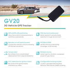 3G Vehicle GPS Tracker GV20 Waterproof Remote Cut Off Oil First ... Mini Gps Tracker Locator For Car Bicycle Tracking Gt02 Gsm Vehicle System In India Blackbeetle For Device Spy What Are Tracking Devices And How These Dicated Live Truck Us Fleet Vehicle Tracker Rp01 Buy Amazoncom Aware Awvds1 Trackers Tracker Wire Security 303 Pro Fleet Vehicle Amazoncouk Setup1 Youtube Real Time Sos Alarm Voice Monitor Acc Letstrack Incar Use Hit Up That Food Trucks