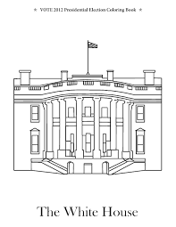 White House Coloring Page Best Of