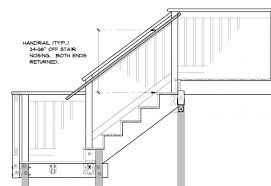 Outside Deck Stair Handrails To Latest Code - General Questions ... What Is A Banister On Stairs Carkajanscom Stair Rail Height House Exterior And Interior The Man Functions Staircase Railing Code Best Ideas Design Banister And Handrail Makeover Using Gel Stain Oak 1000 Images About Spiral Staircases On Pinterest 43 Stairs And Ramps Amazing How To Replace Latest Half Height Wall Timber Bullnose Handrail Stainless Veranda Premier 6 Ft X 36 In White Vinyl With Square Building Regulations Explained Handrails For Photo Wooden Of Neauiccom