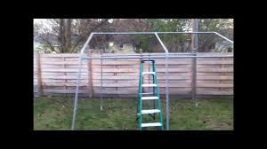 Menards Temporary Storage Sheds by Portable Storage Shed 10 U0027 X 10 U0027 X 8 U0027 Youtube