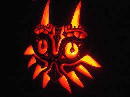 Totoro Pumpkin Carving Ideas by Majora U0027s Mask Pumpkin Carving By Ph4nt On Deviantart