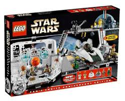 100 Lego Space Home LEGO Star Wars Return Of The Jedi One Mon Calamari Star Cruiser Exclusive Set 7754 Damaged Package