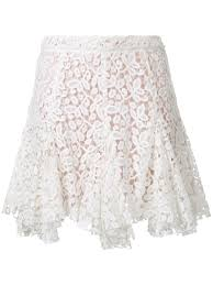 macgraw symphony skirt white lace women clothing a line skirts w