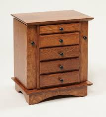 Amish Shaker Dresser Top Jewelry Box