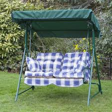 Patio Swings With Canopy by Chocolate Two Seat Patio Swing With Canopy And Metal Frame