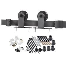 Shop Sliding Barn Door Hardware At Lowes.com Rustic Sliding Barn Door Hdware With Wooden Piece And Old Custom Interior Western Track Installation By Diy Wilker Dos 89 Best Doors Images On Pinterest Barn Doors Antique Industrial Porter Wood Horse Ideas Overlapping For Up To 8 Openings Knobs The Home Depot Everbilt Dark Oilrubbed Bronze Decorative Shop At Lowescom Bypass Closet