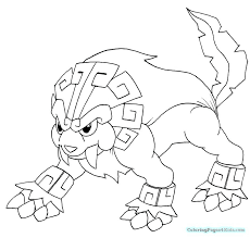 Legendary Pokemon Coloring Pages Mew Printable