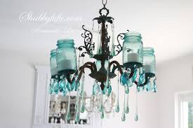 chandeliers design fabulous shabbyfufu jar chandelier the