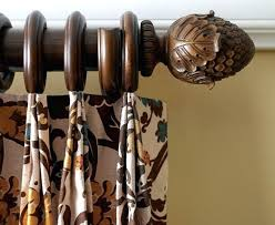 Restoration Hardware Curtain Rod Brackets by Wooden Curtain Rods Wooden Drapery Rod Wood Pole Mounting Hardware