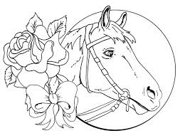 Trend Horse Coloring Pages For Adults Awesome Color Books Ideas
