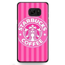 Starbucks Pink Strips TATUM 10105 Samsung Phonecase Cover For Galaxy Note 7
