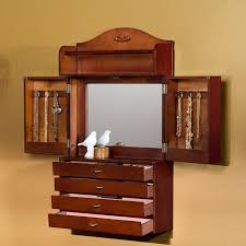 Image Of Famous Jewelry Rustic Cabinet