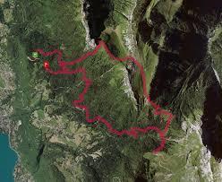 trace de trail chalet de l aulp col des nantets roc