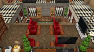 Sims Freeplay Second Floor Stairs by My Sims Free Play Fancy House 2nd Floor Family Mini Cinema Room