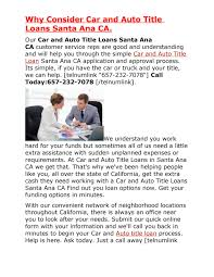 Get Auto Title Loans Santa Ana CA By Atlsantaana - Issuu How To Be Eligible For Title Loans Springfield Car Competitors Revenue And Employees Loan Gps Tracker Trackers New Mexico Inc In Trailer First Capital Business Finance Auto Approvals Gallery Phoenix Get Approved Auto Title Loans Burbank Ca By Burbankatl Issuu Easy And Fast Approval On Nova Scotia Commercial Vehicle Big Rigs Truck Riverside Ca Uloan Canada