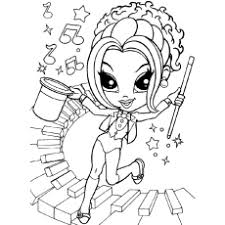 Lisa Frank Printable Coloring Pages For Kids