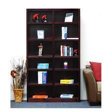 South Shore Morgan Narrow Storage Cabinet by South Shore Axess 5 Shelf Bookcase In Morgan Cherry 7276758 The