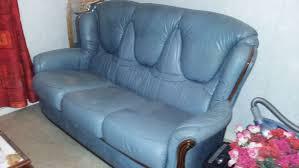 canap angouleme achetez canapé cuir bleu occasion annonce vente à angoulême 16