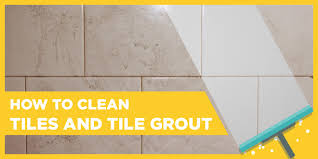 how to clean bathroom tiles and tile grout