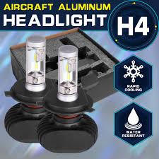 osl hi lo beam h4 led bulbs for car 6000k 2pcs led car