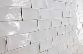 2x8 Subway Tile White by Inch White Glass Subway Tile Stacked Ceramic Tile Andrea Outloud