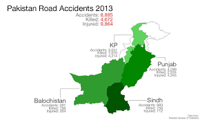 Pakistan's Traffic Accidents Record: Punjab Down, KP Up Since ... California Truck Accident Stastics Car Port Orange Fl Volusia County Motor Staying In Shape By Avoiding Cars And Injuries By Mones Law Group Practice Areas Atlanta Lawyer In The Us Ratemyinfographiccom Commerical Personal Injury Blog Aceable 2018 Kuvara Firm Driver Is Among Deadliest Jobs Truckscom Deaths Motor Vehiclerelated Injuries 19502016 Stastic Attorney Dallas