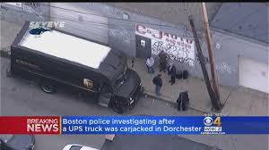 UPS Truck Carjacked In Dorchester « CBS Boston