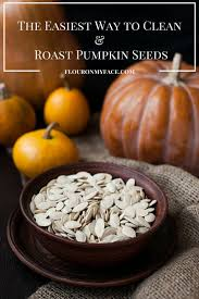 Go Raw Pumpkin Seeds Green by How To Clean And Roast Pumpkin Seeds Flour On My Face